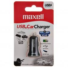 Cargador para auto con 1 puerto USB DUSB-201 Gris Maxell