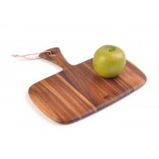 Tabla de madera para picar con mango Billi
