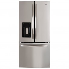 Refrigerador French Door con dispensador 665L 25' PFM25LSKCSS GE