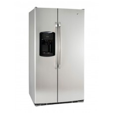 Refrigerador side by side 26' con dispensador y control LED GE