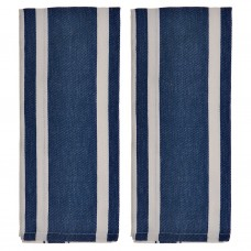 Juego de 2 toallas Líneas 100% algodón Haus