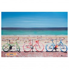 Cuadro Bicicleta Multicolor 70 x 100 cm