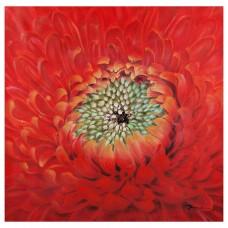 Cuadro Flor Roja