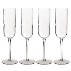Juego de 4 copas para champagne Sublime Bormioli