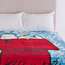 Cobija Snoopy Techo Azul Haus