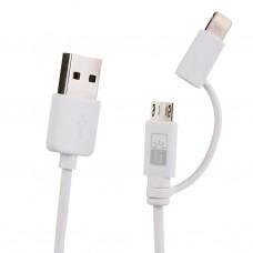 Cable USB con conector Lightning y micro USB Case Logic