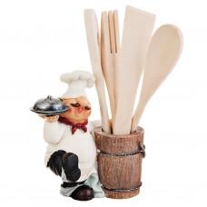 Porta utensilios 5 piezas Chef