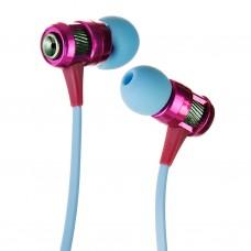 Audífonos con micrófono Morado / Azul Case Logic