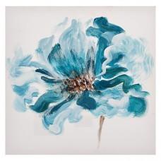 Cuadro Flor Turquesa