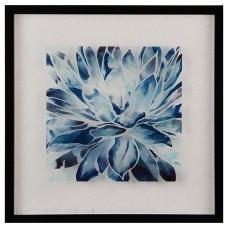 Cuadro con marco Abstracto Azul