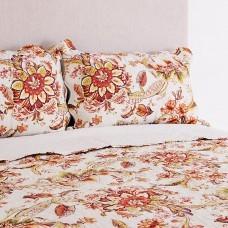 Juego de cubrecama Flores Naranja / Multicolor Haus
