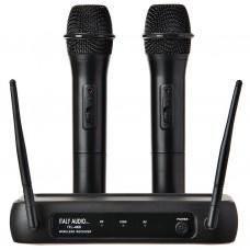 Juego de 2 micrófonos inalámbricos VHF ITL-460 Sono Italy