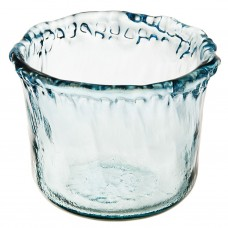 Porta vela Azul Ecoglass