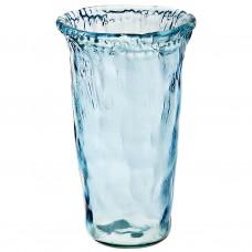 Florero Azul Ecoglass