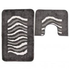 Juego de 2 alfombras para baño Denver Emmevi