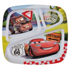 Plato 3 divisiones Cars