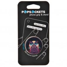Soporte plegable para equipos electrónicos Owl Popsockets