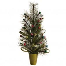 Árbol de Navidad con maceta