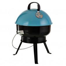 BBQ redondo a carbón con tapa