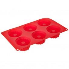Molde cono de silicona para cupcakes Castillo