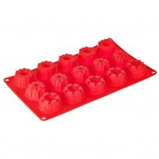 Mini molde cono de silicona para cupcakes