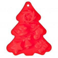 Molde de silicona para cupcakes Árbol de Navidad