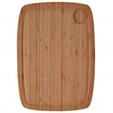 Tabla para picar con canal Natural Bamboo Novo