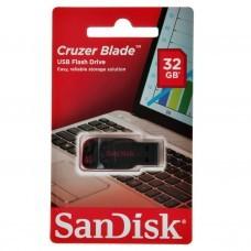 Flash memory Cruzer Blade Negro / Rojo SanDisk
