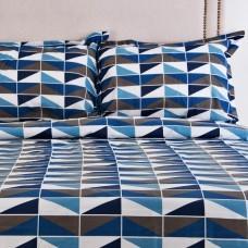 Juego de duvet Kaia Azul Casa Linda