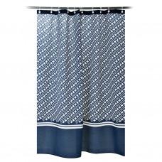 Cortina de baño con ojales Sorel Azul Casa Linda