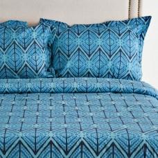 Juego de duvet Abstracto Azul Haus
