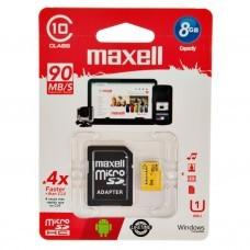 Memoria micro SD + Adaptador SD Class 10 Maxell