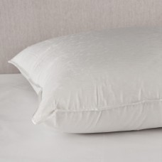 Almohada con relleno 100% plumas y forro Jacquard 100% algodón Aurora Down
