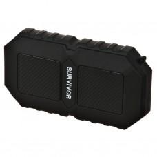 Parlante portátil Bluetooth resistente al agua 5W Survivor Mental Beats
