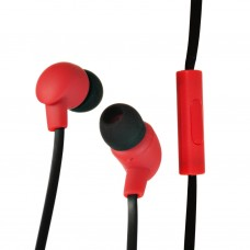 Audífonos con cable plano / micrófono Case Logic