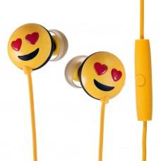 Audífonos con cable Emoji Amor