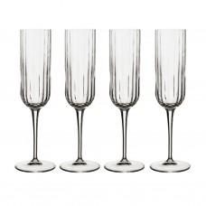 Juego de 4 copas para champagne Bach Bormioli