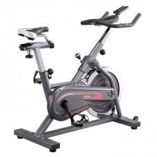 Bicicleta Spinning 8 funciones con sillón ajustable y pantalla LCD 27758 Life Gear