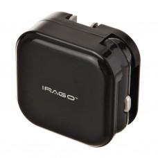 Cargador para pared / auto 2.1A / 2 USB Irago