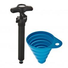 Bomba manual aire para ducha portátil Rinsekit