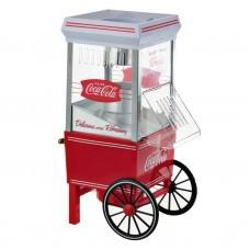 Máquina de aire caliente para popcorn Coca-Cola 1040W Nostalgia