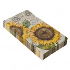 Juego de 16 toallas visita Botanical Sunflower