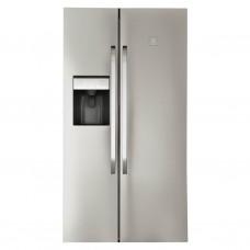 Electrolux Refrigerador Side by Side Titanium con dispensador 20' ERSB50I3MQS