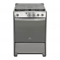 Indurama Cocina a gas con 4 quemadores / Termocontrol / Luz 60cm Granada QRZ