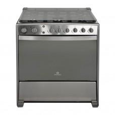 Indurama Cocina a gas con 6 quemadores / Grill / Asador / Luz / Timer 80cm Galicia QRZ