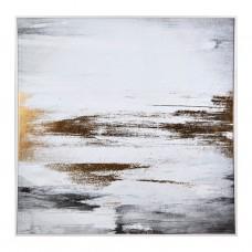 Cuadro con marco beige Abstracto