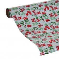 Papel regalo HOHOHO Merry Christmas
