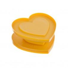 Cortador para galletas en forma de corazón con notitas Silikomart