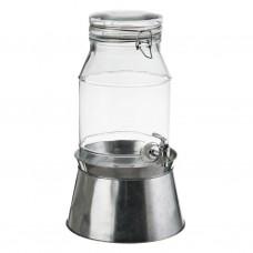 Dispensador para bebidas con base hielera
