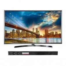 LG TV LED digital ISDB-T UHD con Barra de sonido / DIRECTV 55'' 55UK6350S